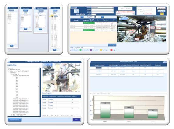 Software di gestione dati - NitroSave Ispezione linee di azoto
